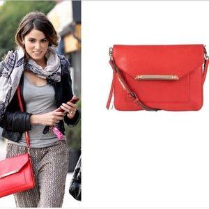 NWOT Stella & Dot Tia Crossbody Bag in Poppy Red
